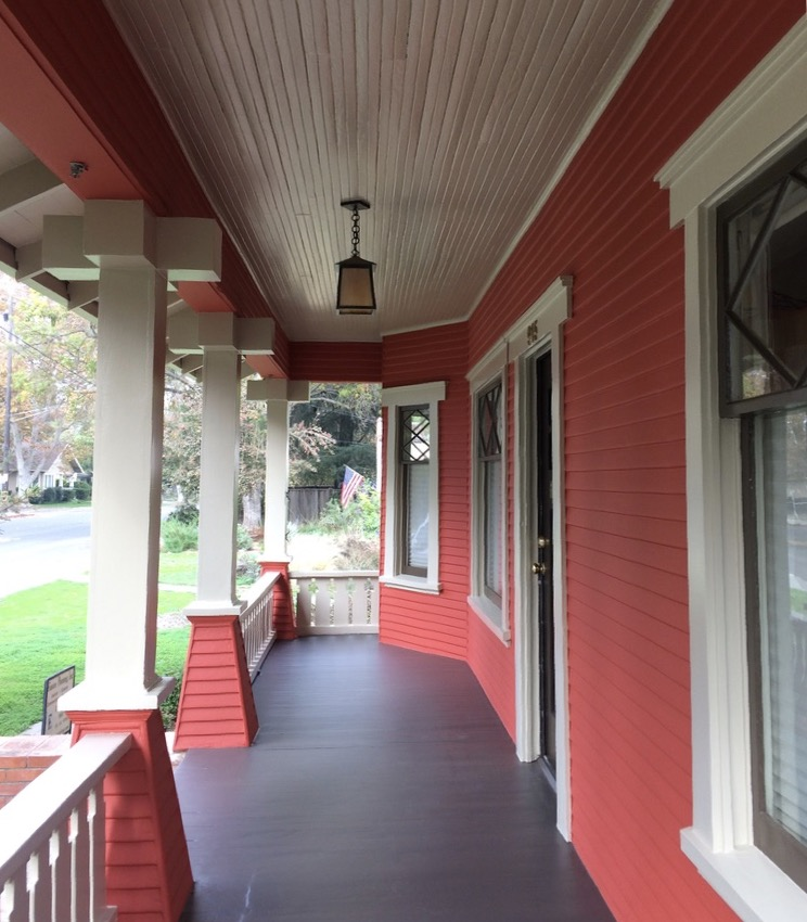 Painting and restoration of historic Victorian houses in Woodland Davis Sacramento Yolo County by Easton Painting 04